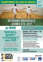 20200306 ligue vétérans individuels et jeunes U13 U17